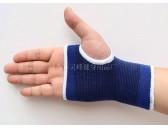 厂家批发 多功能健身护手掌 专业针织宝蓝棉纱护手掌