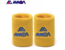 台湾MMOA摩亚HW02羽毛球运动护腕篮球网球吸汗吸汗带 2只包邮试用