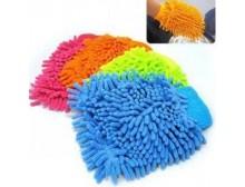 雪尼尔双面擦车手套 多功能洗车熊掌不伤漆 汽车美容家务清洁除尘
