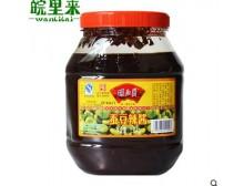 安徽安庆特产徽派豆瓣酱 中华老字号胡玉美蚕豆辣酱超实惠装1.6kg