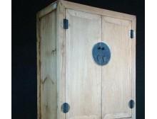 【宋氏家具】新中式仿古实木家具大衣柜/素色免漆雕花衣柜/立体