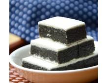 【伙拼】 好吃的糕点 早点 仁寿特产 张记精制黑芝麻糕200g 特产