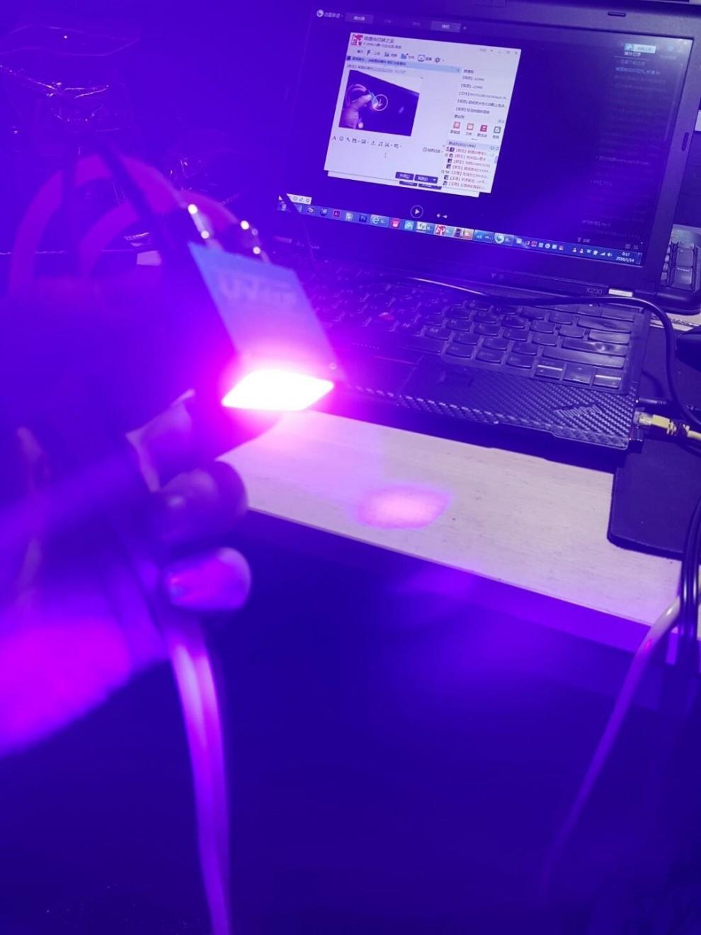 超级微型UV-LED紫外固化灯及微型超级冰冷循环机