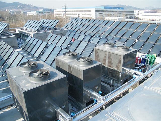 酒店、宾馆、体育馆、工厂空气能热水工程